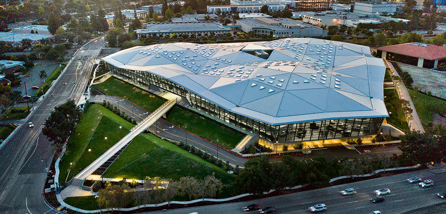 Nvidia's new headquarters in Santa Clara, California is where the company is working on the transportation systems of the future. Photo: Porsche Consulting